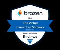 Brazen SSR badge Virtual Career Fair 2021