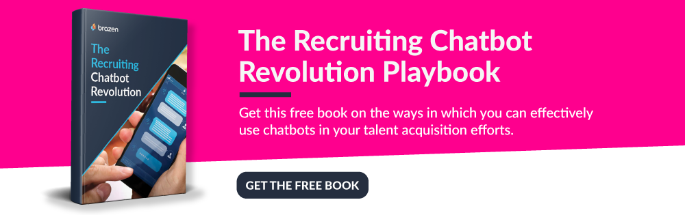 The Recruiting Chatbot Revolution ad
