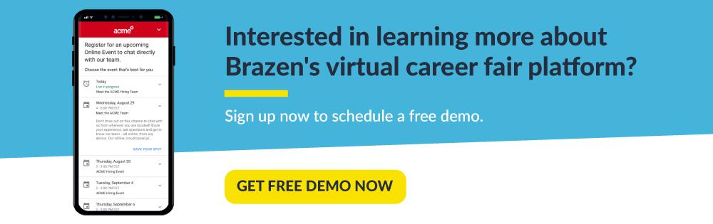 top 4 virtual career fairs get a demo